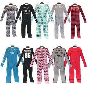 Victorias Secret PINK Drop Seat Pajamas (onesie)❤️